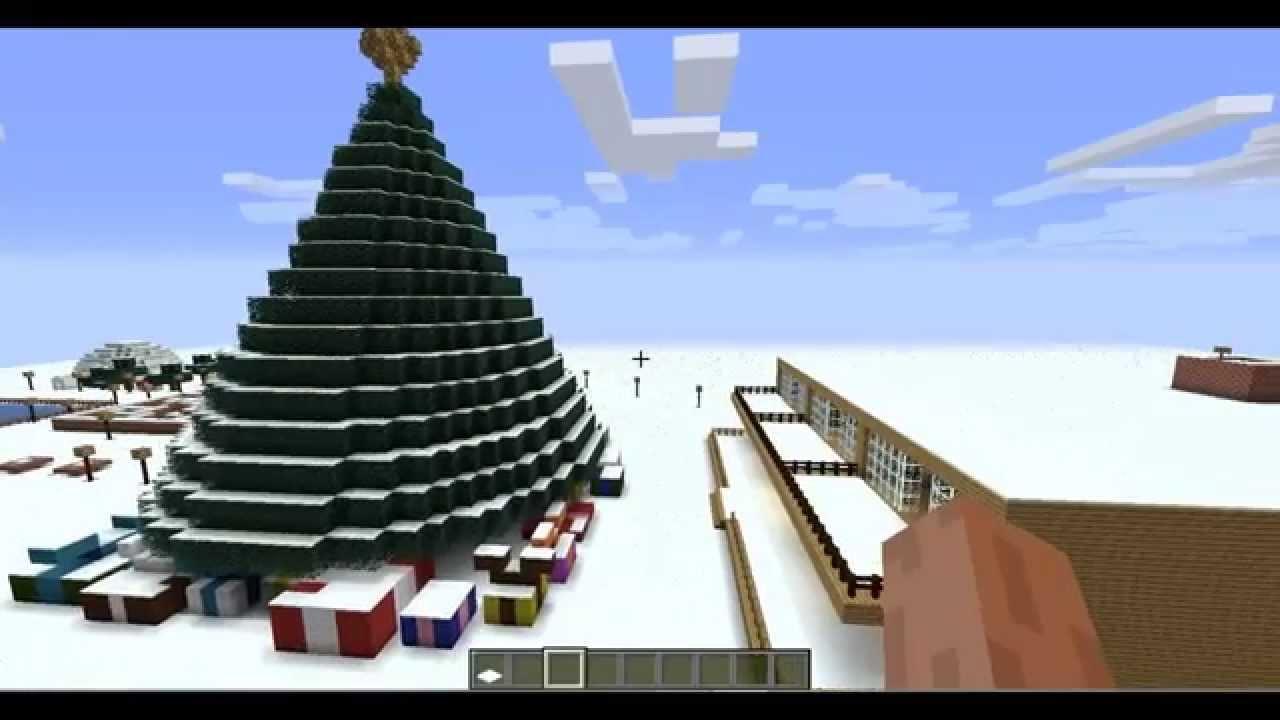 Minecraft map: North Pole - Fun Land Trailer - YouTube