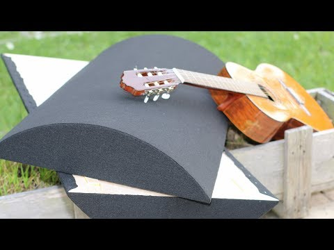 How I Made My Own Curved Acoustic Diffusers / Deflectors DIY Project