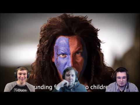 ERB - George Washington vs. William Wallace   DarkStar Reacts