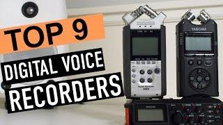 Best 9: Digital Voice Recorders 2018