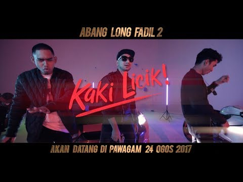 Zizan Razak - KAKI LICIK [Official MV HD] (OST ABANG LONG FADIL 2)