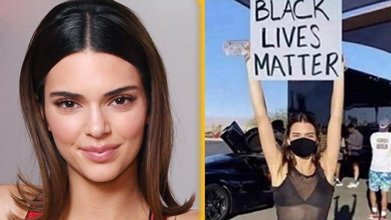 Kendall Jenner Reacts To Black Lives Matter Photoshop Backlash thumbnail