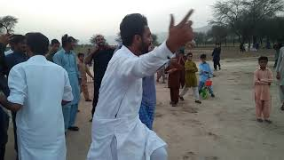 After wining cricket match on Eid 2018.  Sher pur vs pindi said pur . Sher pur winer