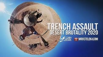 Trench Assault - FOV 360 VR -  Desert Brutality 2020