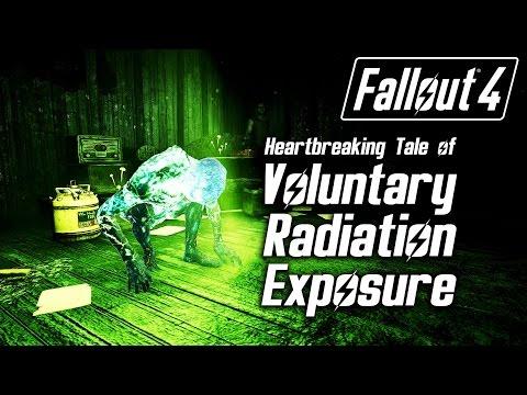 Fallout 4 - Heartbreaking Tale of Voluntary Radiation Exposure