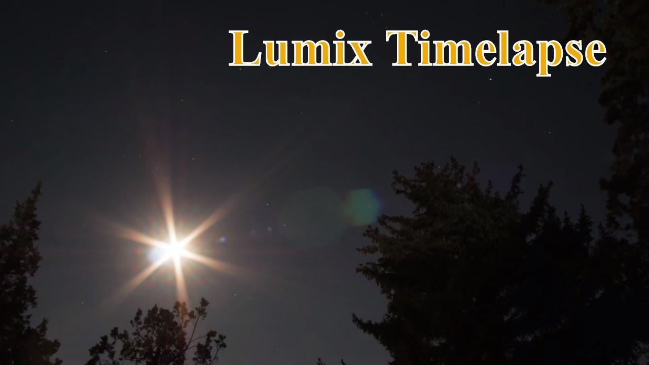 Lumix G7 / Gx8 Timelapse - Reach for the stars