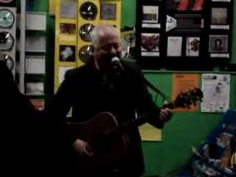 """Jon Langford at Spillers in Cardiff, """"Tom Jones Levitation"""""""