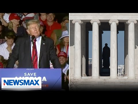 Trump warns crowd they won't be happy with Thomas Jefferson replacement