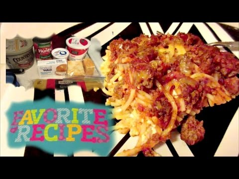 Million Dollar Spaghetti   EASY FAMILY RECIPE!