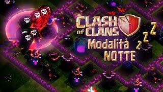 CLASH OF CLANS Modalità Notte Gameplay! Aggiornamento Futuro? Night Mode Clash of Clans