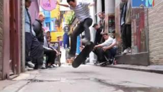 SLAM CITY SKATES S.K.A.T.E GAME - MARLEY VS DOMINGUEZ