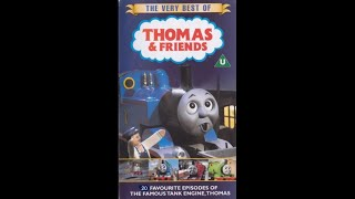 The Very Best of Thomas & Friends 2008 Blueish VHS Full tape!