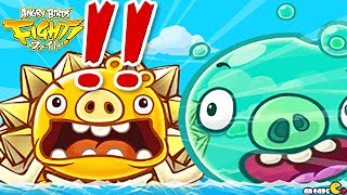 Angry Birds Fight! RPG Puzzle - New Aqua Monster Pig!