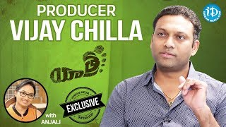 Yatra Movie Producer Vijay Chilla Exclusive Interview    Talking Movies With iDream