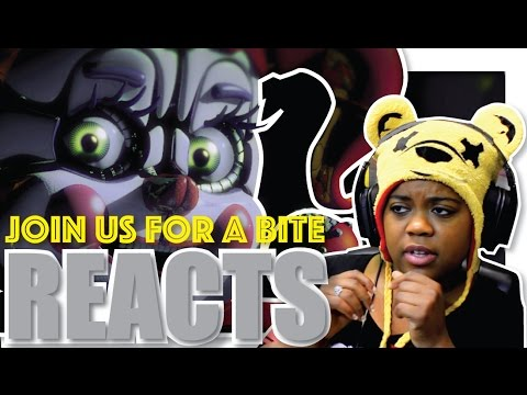 FNAF Sister Location Song | JT Machinima Reaction | AyChristene Reacts