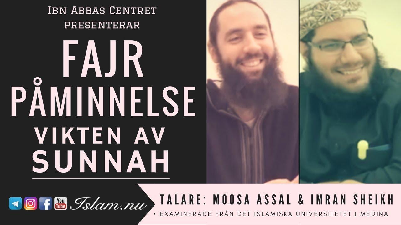 Vikten av Sunnah | Fajr Påminnelse med Moosa Assal & Imran Sheikh