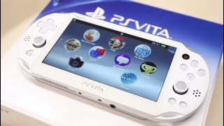 Unboxing the PS Vita in 2019