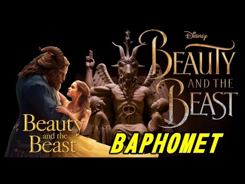 Beauty and The BEAST - The BAPHOMET Is In The ILLUMINATI Movie!