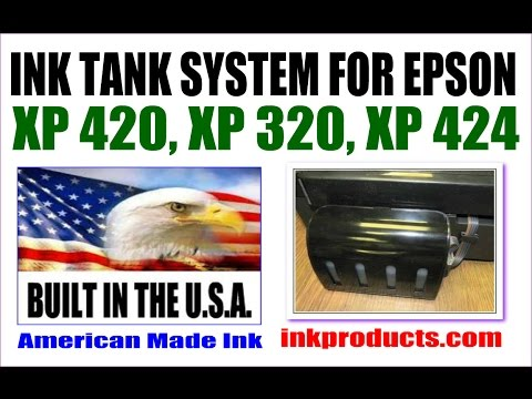 Epson ET Ink Tank vs Inkproducts CIS Tank For XP 420, XP 320, XP 424