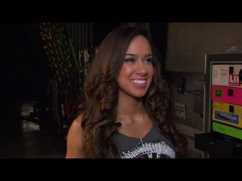 Backstage Fallout - AJ talks about CM Punk - Raw - May 28, 2012