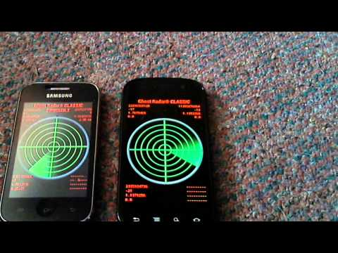 Ghost Radar Classic: Testing 2 Phones
