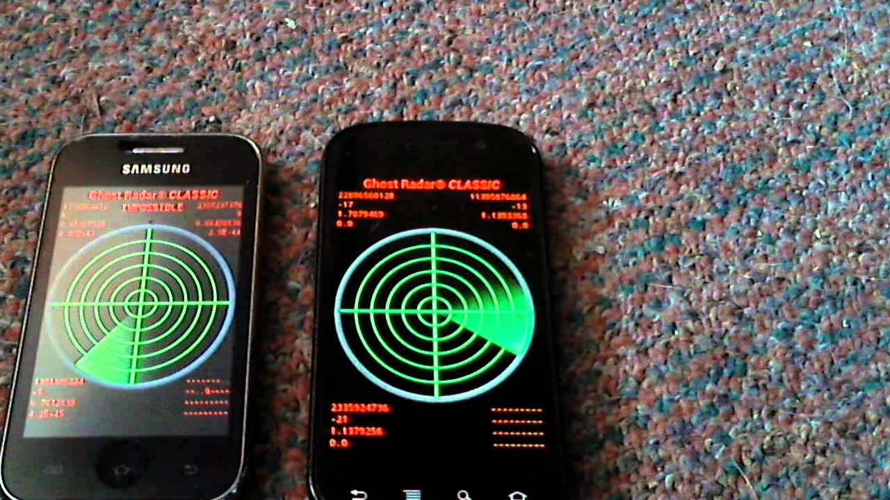Ghost Radar Classic Testing 2 Phones Youtube