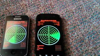 Ghost Radar Classic: Testing 2 phones