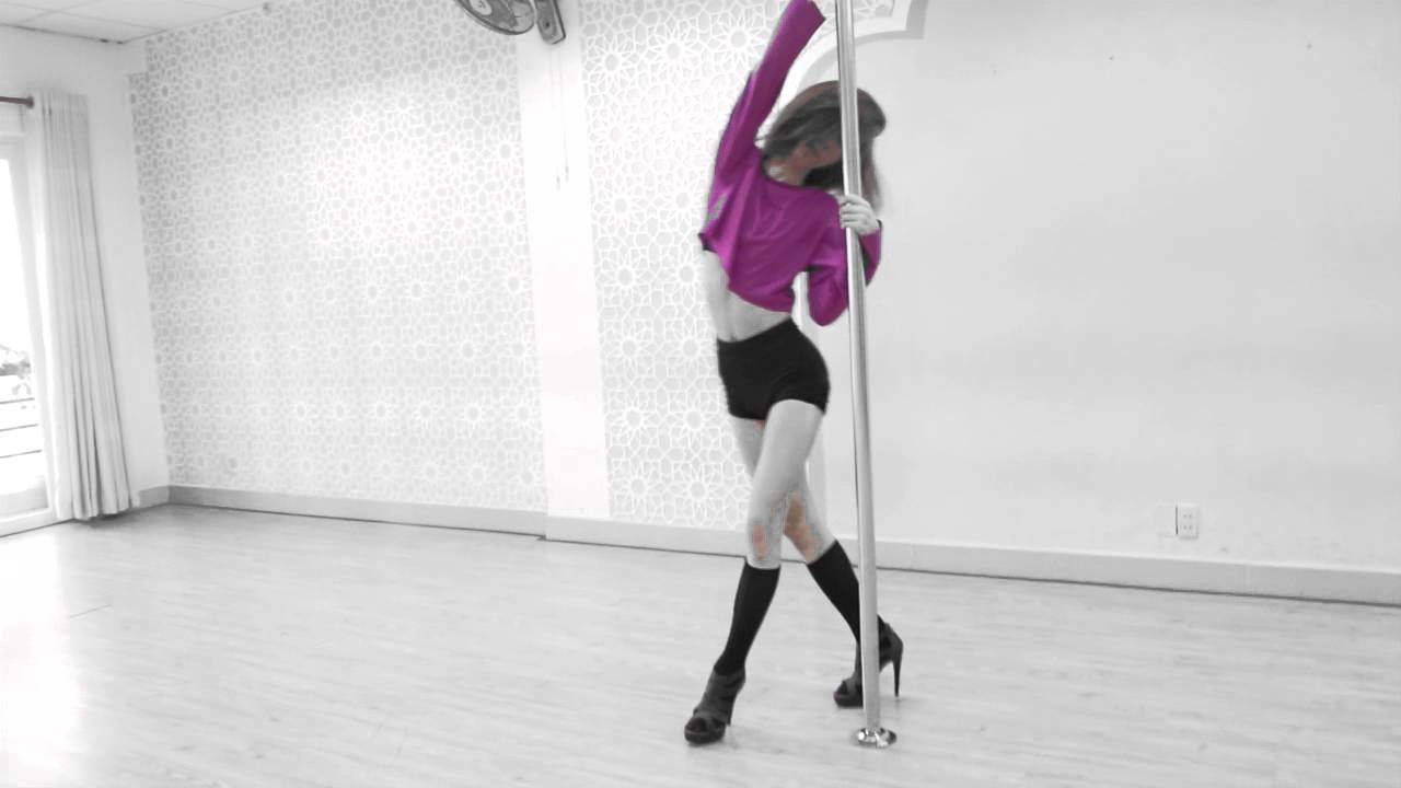 POLE DANCING CLASSES ★ SEXY TEACHER PERFORMANCE ★ Arround the World