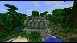 ключ генерации на Храм джунглей в Minecraft Pocket Edition