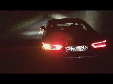 Что может топовая Toyota Camry ночью?