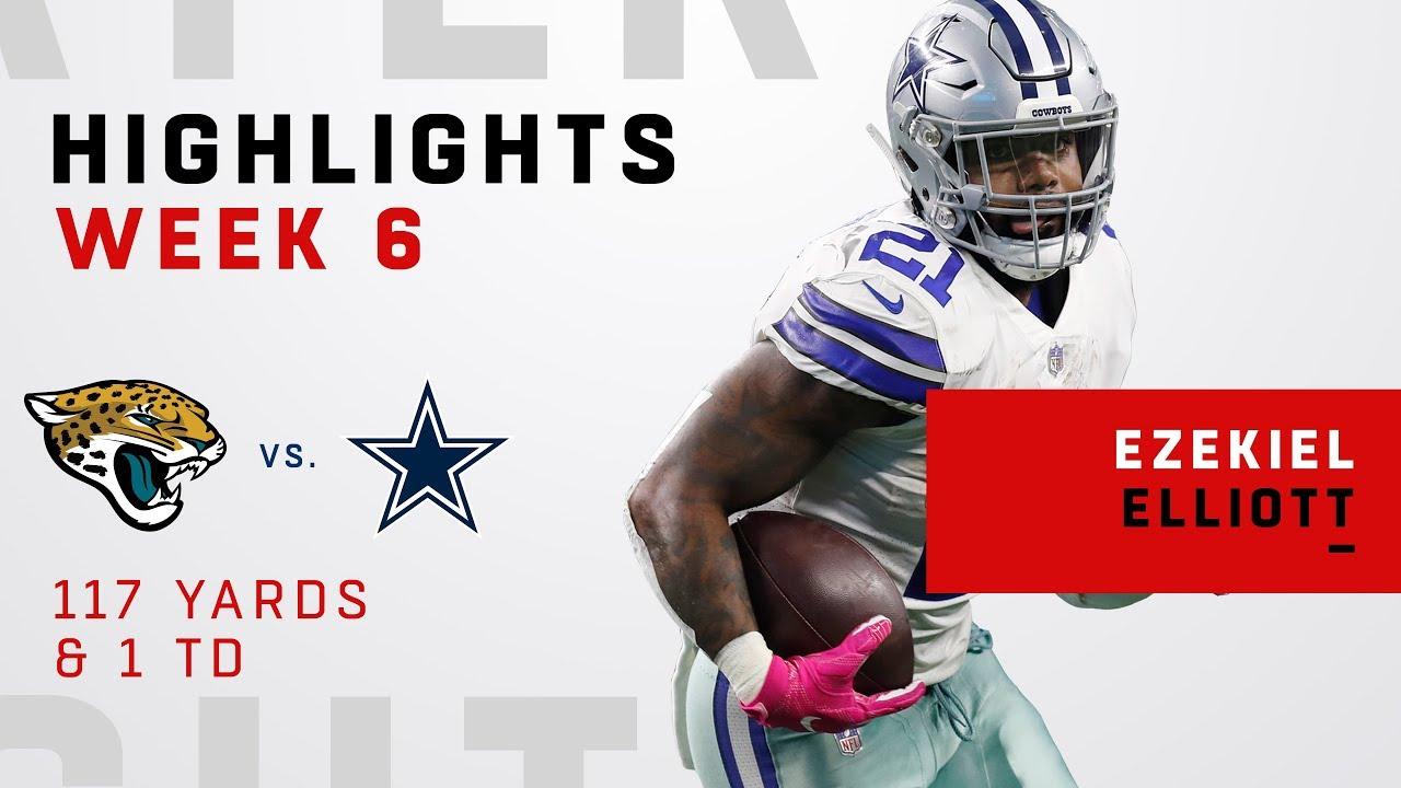 Ezekiel Elliott Highlights vs. Jags