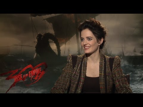 Eva Green interview 300 Rise of an Empire - YouTube Eva Green Review