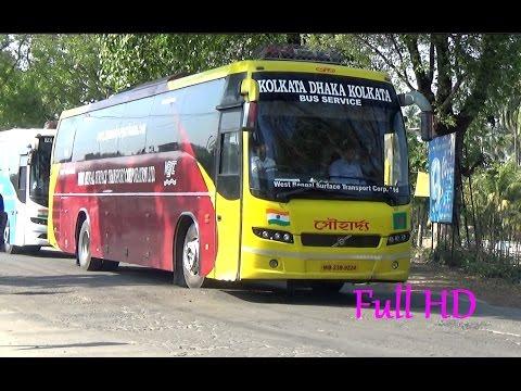 The Most Luxurious Bus Service Between Kolkata And Dhaka - Souharda Volvo Bus/ সৌহার্দ্য বাস