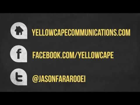 Yellow Cape Communications Media Creation Capacity Promo