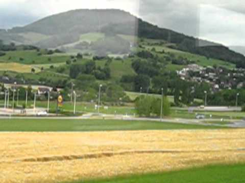 Basel to Zurich? View of countryside