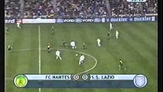 FC Nantes - Lazio Rome 2001-02 C1