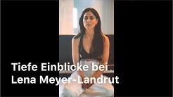 Die Deutsche Popsängerin Lena Meyer-Landrut zeigt sich ganz Privat