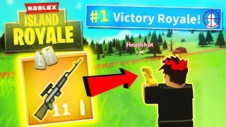 *NEW* SNIPER ONLY CHALLENGE VICTORY in Roblox Fortnite: Battle Royale! - Island Royale