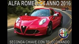 ALFA ROMEO C4 ANNO 2016 - SECONDA CHIAVE CON TELECOMANDO