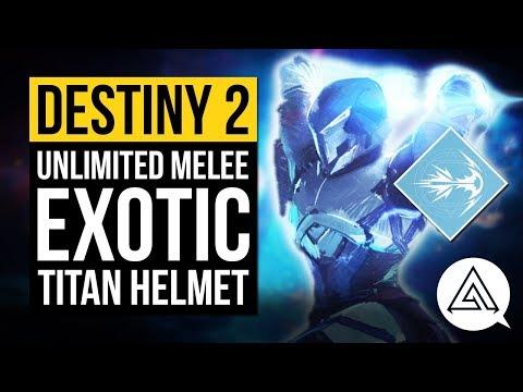 DESTINY 2 | Unlimited Melee & Instant Grenade Titan Exotic Helmet