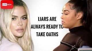 Khloe Kardashian Posts Not So Cryptic Post About LIARS After Jordyn Woods Lie Detector Test! | #TMTL