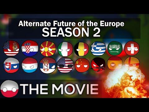 [FULL HD] Alternate Future Of Europe Season 2 THE MOVIE   IN ANIMATED COUNTRYBALLS (Read Desc)