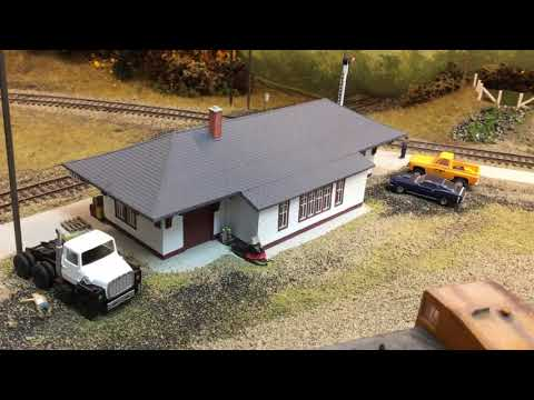 Algoma Central Railway January 2019 Layout Update
