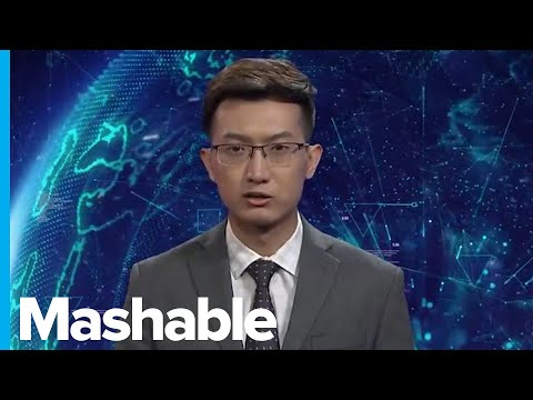 A Chinese News Agency Unveiled Two AI Anchors, but They Aren't Very Good Yet