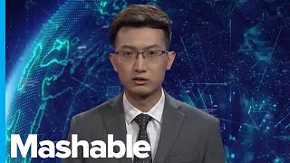 Zapętlaj A Chinese News Agency Unveiled Two AI Anchors, but They Aren't Very Good Yet | Mashable