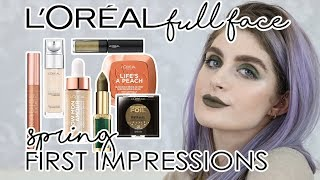 L'ORÉAL PARIS MAKEUP Full Face of First Impressions Spring Collection 2018 | Raquel Mendes