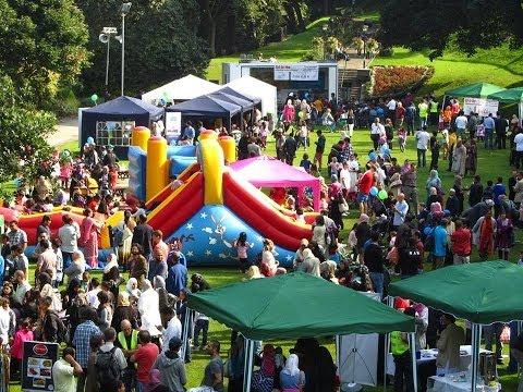 Eid In The Garden 2013, Organised By Aberdeen Muslims