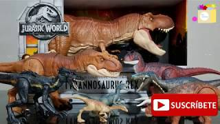 SUPER COLOSSAL Tyrannosaurus Rex - Mattel Jurassic World The Fallen Kingdom (Unboxing)