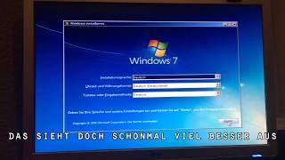 Windows 10 löschen & Windows 7 installieren ohne Zusatzprogramm / Remove Win 10 & Install Win 7
