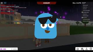 Roblox BloxBurg Playing with a. .. Chicken?!